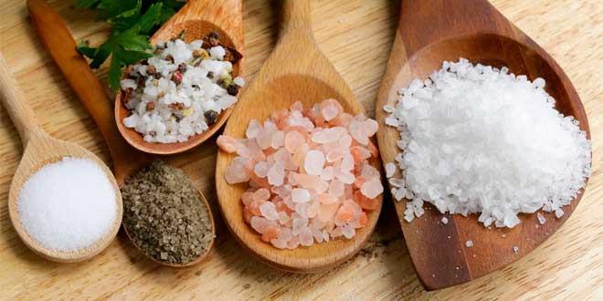 Alimentos ricos sales minerales
